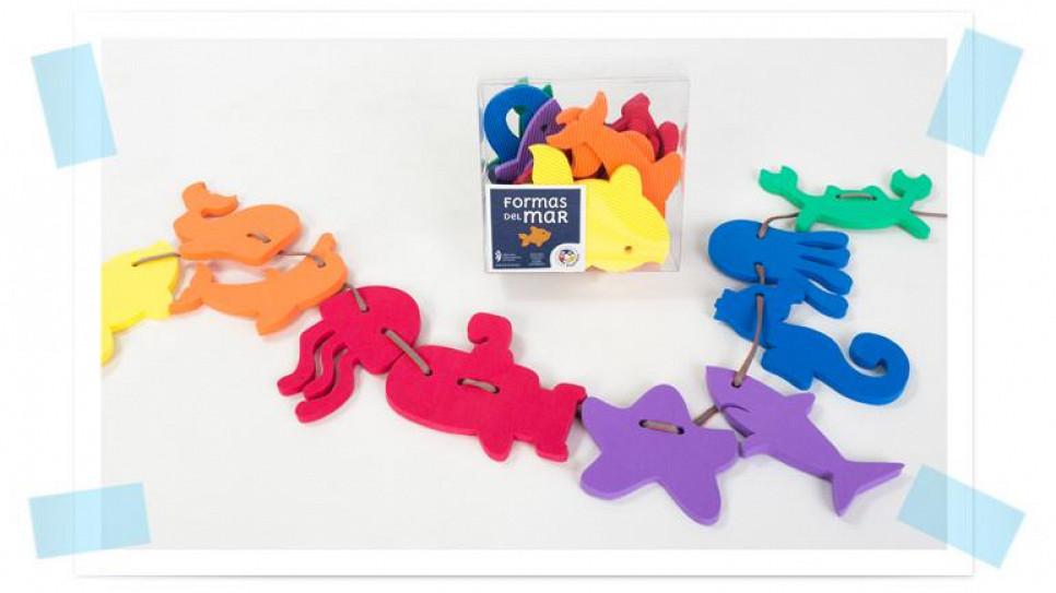 ed1eeaa5b07 Formas del Mar 10 Figuras del Mar en goma eva
