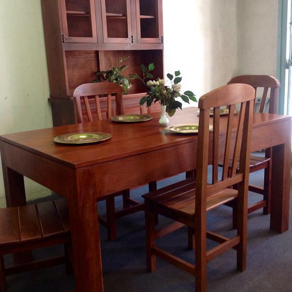 Living comedor arte macizo muebles de cocina y artesanales for Muebles living comedor