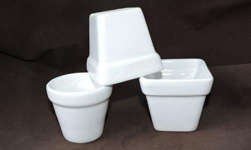 Bienvenido mirasoles recuerdos en cer mica for Fabrica ceramica blanca