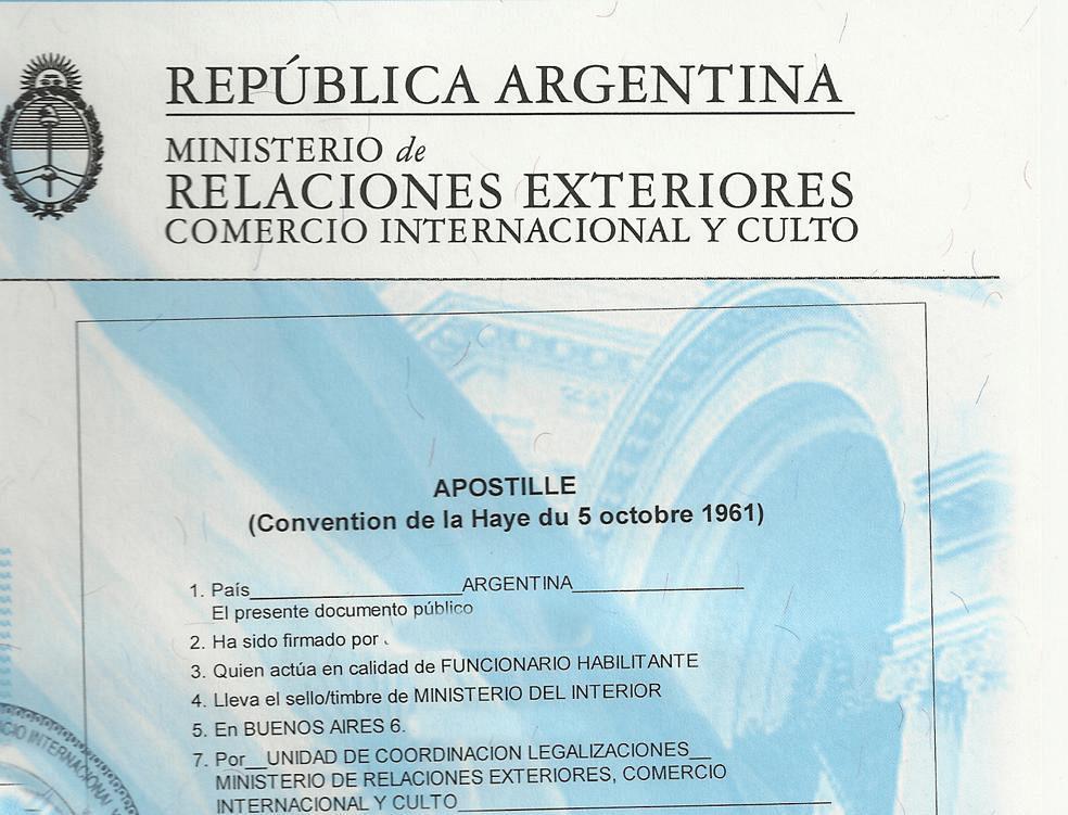 Principal Apostilla De La Haya Apostillados De La Haya Para Argentinos En El Exterior
